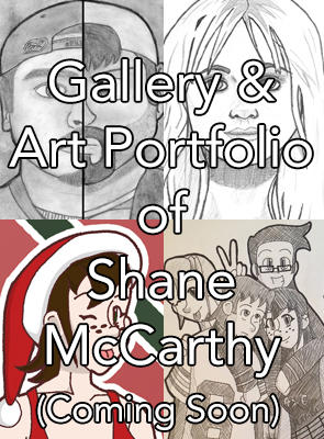 Gallery & Art Portfolio of Shane McCarthy